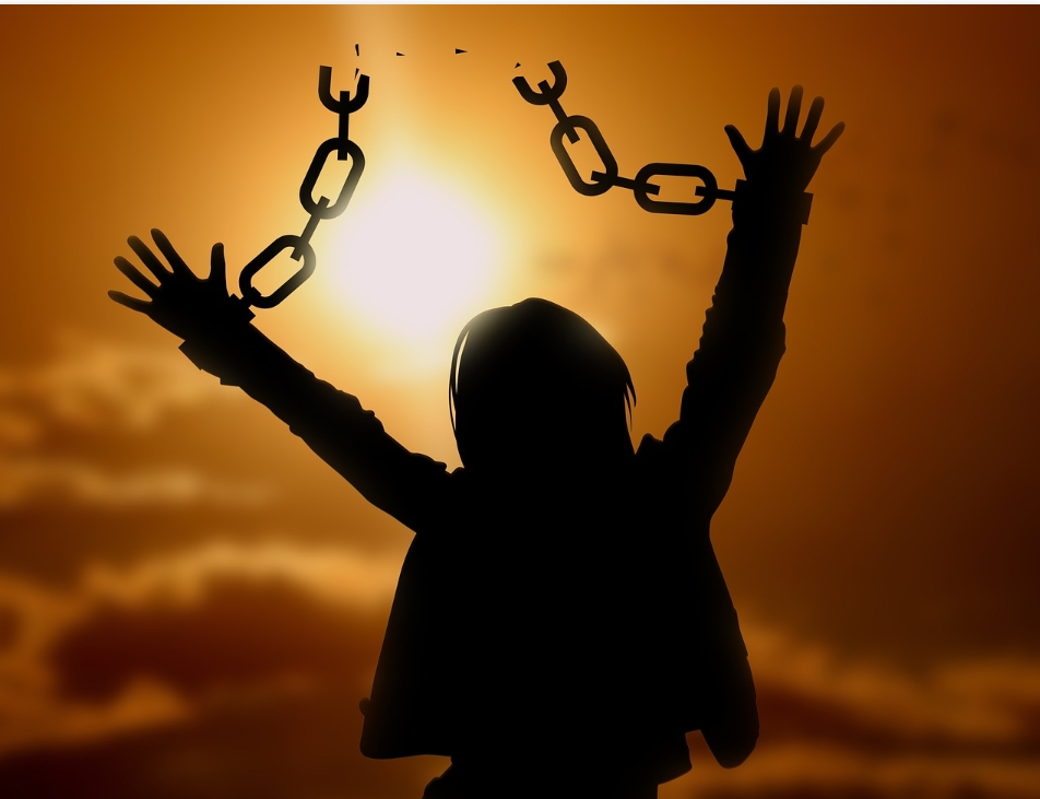 Two Words That Break the Chains of Bondage and Set Us Free!